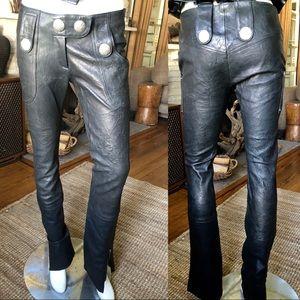 Insanely killer Thomas Wylde black leather pants